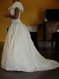 occasion mariage de mariée pas cher en soie sauvage occasion du mariage