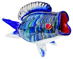 big glass fish ornament be fabulous