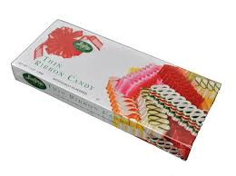thin ribbon sevigny s thin ribbon candy seven ounce gift box 6 box candy