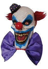 fiendish chompo the clown mask evil clown masks for halloween