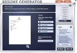 Resume Builder Template Free Online Readwritethink Resume Generator Haadyaooverbayresort Com