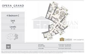 grand floor plans opera grand in dubai floor plans