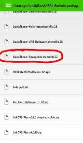 download theme changer line spongebob ganti ganti tema line yang berbayar secara gratiss tanpa root tanpa