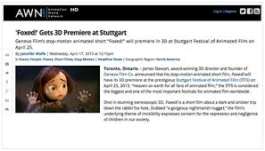 Awn Animation Foxed The Movie News U2014 Foxed