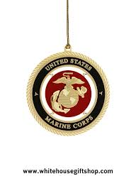 ornaments united states marine corps holidays ornament