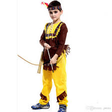 american costume west child boys indian cowboy