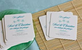 save the date coasters save the date coasters weddings ideas from evermine