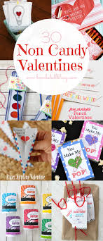 candy valentines 30 non candy ideas printables