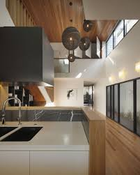 Kitchen Ceiling Light Interior Modern Open Floor Kitchen Decoration Using Double