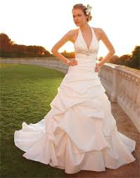 online get cheap halter neck wedding gown aliexpress com