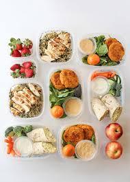 Dans La Cuisine De L Idée Du Week A Lunch Plan For The Week And Prep Everything Ahead Of