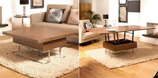 Coffee Tables With Shelves Modern Convertible Coffee Table Dans Design Magz