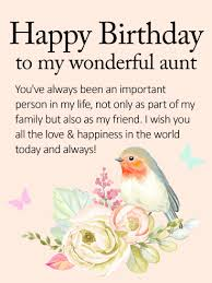 birthday cards for aunt birthday u0026 greeting cards by davia