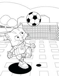 Cute Soccer Coloring Pages Image Player Messi Playing Minnie Mouse Soccer Coloring Page