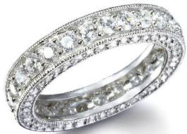 band wedding ring lovely photograph of eternity band engagement ring ring ideas