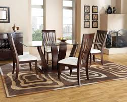 rectangular dining table with 6 chairs