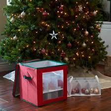 christmas ornament storage 27 pc ornament storage box