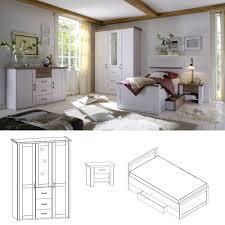 Schlafzimmerschrank Pinie Massiv Schlafzimmer Luca Pinie Truffel Innenarchitektur Und Möbel