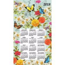 butterfly garden 2018 towel calendar 723886436793 calendars com