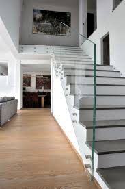 Glass Banister Uk Best 25 Glass Stair Balustrade Ideas On Pinterest