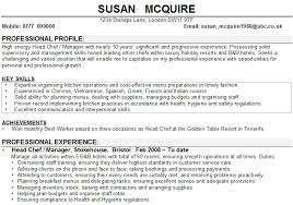 Nanny Resume Example by British Cv Example