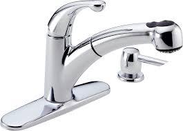 single handle pullout kitchen faucet 18 best delta kitchen faucets delta pull out kitchen faucet visionexchange co