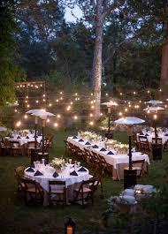 Backyard Wedding Lighting by 40 Romantic And Whimsical Wedding Lighting Ideas Rustic Backyard