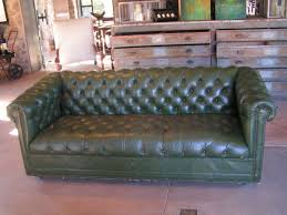 Chesterfield Tufted Leather Sofa Green Tufted Leather Sofa Comfortable And Unique Sofas