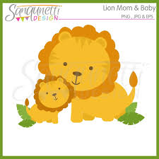 halloween clipart archives sanqunetti design sanqunetti design lion mom and baby clipart only 1 00 lion