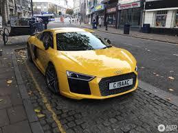 Audi R8 Yellow - audi r8 v10 plus 2015 31 october 2016 autogespot