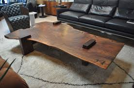 Slab Coffee Table Large Scale Walnut Slab Coffee Table By Richard Patterson Walnut