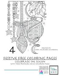 coloring book pages printable 4 festive coloring pages for