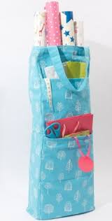 christmas paper storage gift wrap storage bag keep your wrapping paper organised