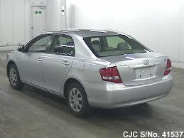 2011 toyota corolla axio silver for sale stock no 41537