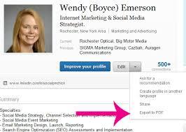 Linkedin Profile In Resume Linkedin Profile Pdf The New Resume Standard