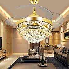 Ceiling Fan For Living Room Colorled Modern Gold Ceiling Fan Light Kit For Living Room
