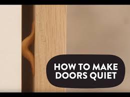 how to stop cabinet doors from slamming how to make doors