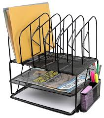 File Desk Organizer by Hanging File Organizers