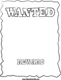 wanted poster posters therapy and classroom freebies