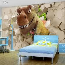 Kids Dinosaur Room Decor Bedroom Exquisite Awesome Custom Large Mural Font B Wallpaper B