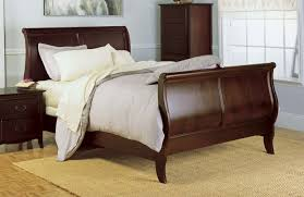 California King Sleigh Bed Cal King Size Sleigh Bed In Finish Santa Barbara Collection