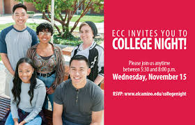 el camino college college night welcomes all south bay residents to el camino college