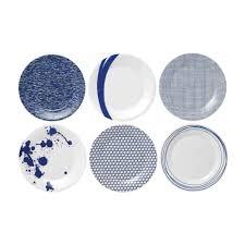 vaisselle en gros pour particulier de 6 assiettes 23 cm en porcelaine pacific royal doulton
