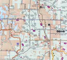 Michigan Orv Trail Maps by Trail Map Of North Manistee National Forest Michigan 758