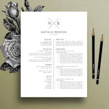 Free Resume Templates Design Modern Resume Template Cover Letter Template For Word