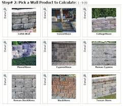 Retaining Wall Calculator And Price Tools Mutual Materials