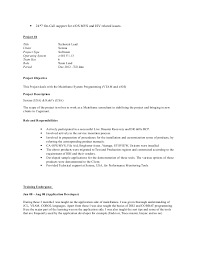 Mainframe Developer Resume Examples by Systems Engineer Resume Example Project Implementation Engineer