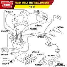warn atv winch parts diagram automotive parts diagram images