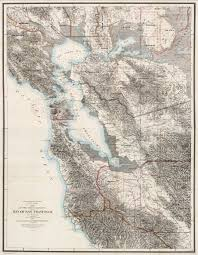San Francisco Bay Map by Composite Map Of The Region Adjacent To The Bay Of San Francisco