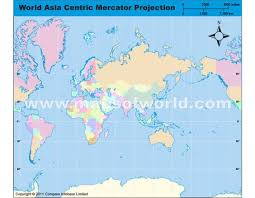map world asia buy asia centric world map in mercator projection asia